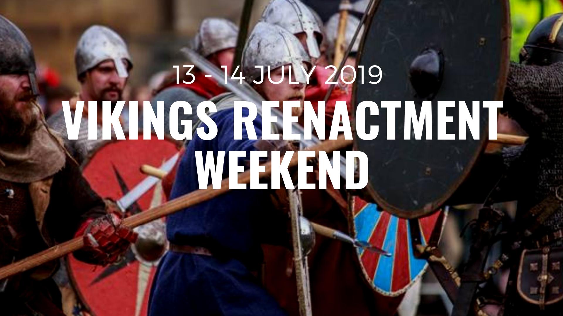 Vikings Reenactment Weekend | Sacrewell Farm